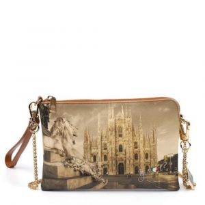 Borsa Donna Y NOT Pochette con Tracolla YES-384 Milano Lion