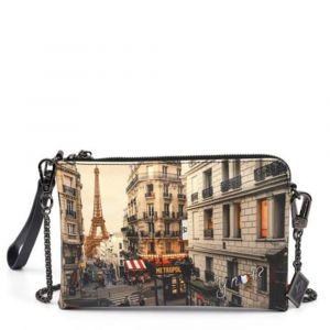 Borsa Donna Y NOT Pochette con Tracolla YES-384 Paris Boheme