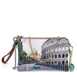 Borsa Donna Y NOT Pochette con Tracolla YES-384 Roma Aurelia