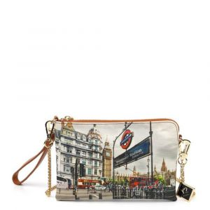 Borsa Donna Y NOT Pochette con Tracolla YES-384 London Westminster Tube