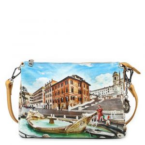 Borsa Donna a Tracolla Y NOT YES-399 Rome Fountain