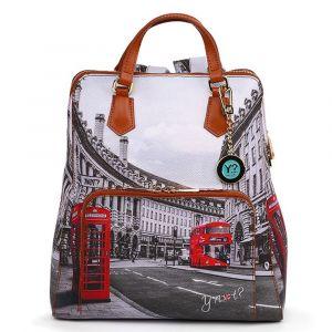 Zaino Donna Due Manici Y NOT con Tasca Esterna YES-401 London Regent Street