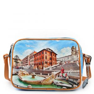 Borsa Donna a Tracolla Y NOT Rome Fountain YES-420