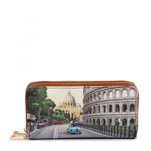 Portafoglio Donna con Doppia Zip Y NOT YES-568 Roma Aurelia