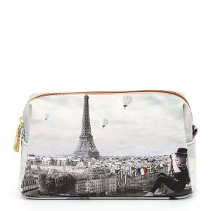 Beauty Medio con Zip Y NOT YES-302 stampa Ciel de Paris
