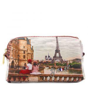 Beauty Medio con Zip Y NOT stampa Paris C'est La Vie YES-302