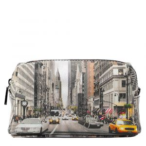 Beauty Medio con Zip Y NOT stampa NY Street Style YES-302