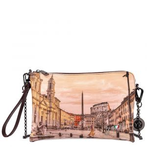 Borsa Donna Y NOT Pochette con Tracolla YES-303 Morning in Rome