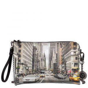 Borsa Donna Y NOT Pochette con Tracolla YES-303 NY Street Style