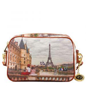 Borsa Donna Y NOT a Tracolla YES-310 Paris C'est La Vie