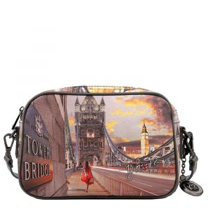 Borsa Donna Y NOT a Tracolla YES-310 London Tower Bridge