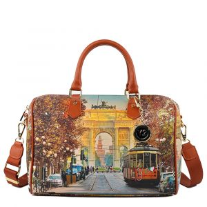 Borsa Donna Y NOT Bauletto Medio con Tracolla YES-318 Milan Happy Hour