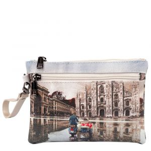 Pochette Donna con Zip Y NOT Milano Race YES-342