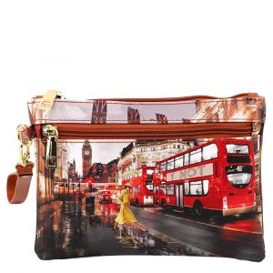 Pochette Donna con Zip Y NOT London Yellow Trench YES-342