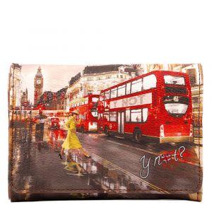 Portafoglio Donna con Bottone Y NOT YES-346 London Yellow Trench