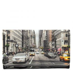 Portafoglio Donna con Bottone Y NOT YES-347 NY Street Style