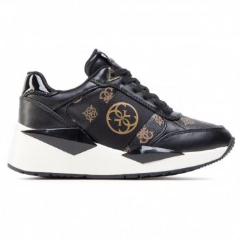 Scarpe Donna GUESS Sneakers Bronze Black Linea Tesha