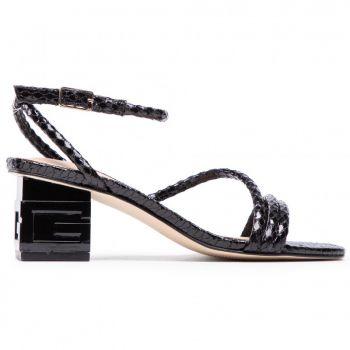 Sandali Donna con Tacco GUESS linea Macre colore Nero