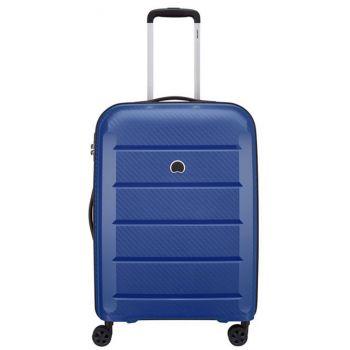 Trolley Medio 4 Doppie Ruote 70 cm Rigido Leggero 3,5kg - Delsey Binalong  Blu