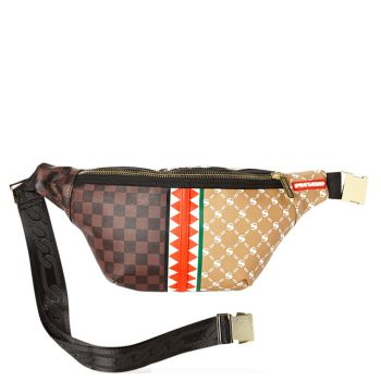 SPRAYGROUND Paris vs Florence Print Belt Bag