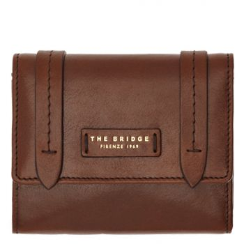 THE BRIDGE Strozzi Line – Small Brown Leather Wallet