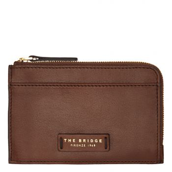 THE BRIDGE Strozzi Line – Small Brown Leather Wallet 0178300114