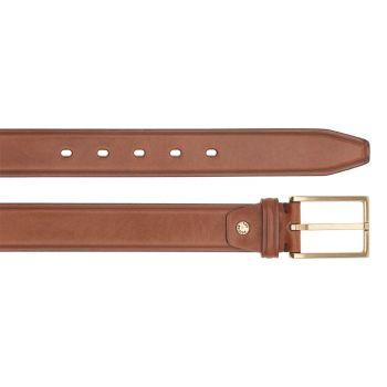 THE BRIDGE Brunelleschi Line – Brown Leather Belt of 110 cm length Made in Italy