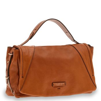 Borsa Donna a Mano Media THE BRIDGE in Pelle Color Cognac linea Tintori
