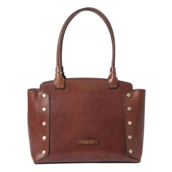 Borsa Donna Shopping a Spalla THE BRIDGE in Pelle Marrone linea Eleonora