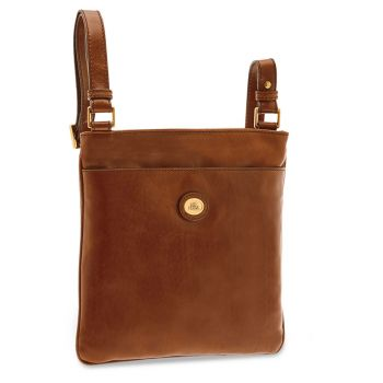THE BRIDGE Story Line – Brown Leather Crossbody Bag