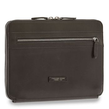 THE BRIDGE Neri Line – Black Leather PC Case