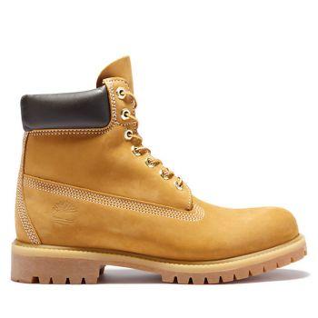 Scarpe Uomo TIMBERLAND Stivali linea Premium 6 Inch colore Giallo