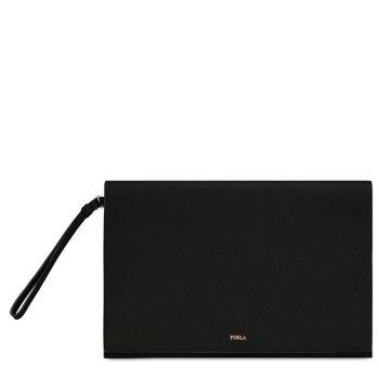 Pochette Donna Porta iPad Furla Linea Babylon Nera
