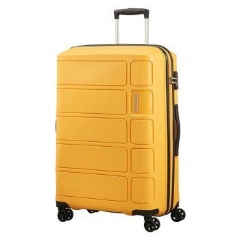 Trolley Medio 67cm 4 Ruote 3,2kg - American Tourister Summer Splash Honey Yellow