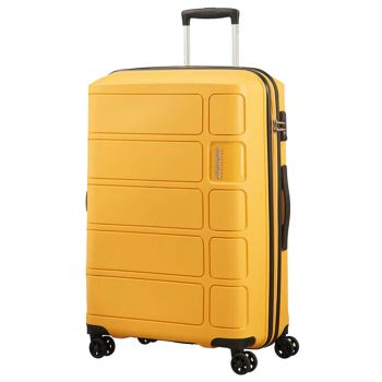 Trolley Grande 77cm 4 Ruote 4,2kg - American Tourister Summer Splash Honey Yellow