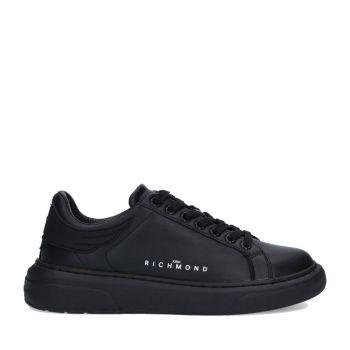 Scarpe Uomo JOHN RICHMOND Sneakers in Pelle Nera