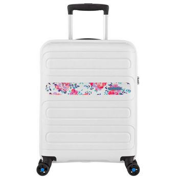 Trolley Cabina 55cm 4 Ruote Leggero 2,5kg - American Tourister Sunside Colour Flower