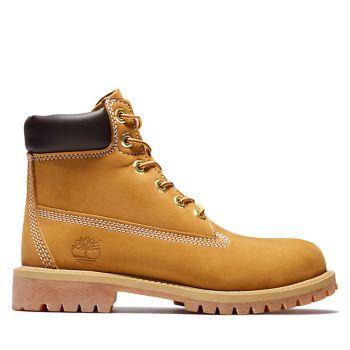 Scarpe Junior TIMBERLAND Stivali linea Premium 6 Inch colore Giallo