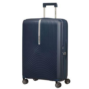 Trolley Medio Rigido Espandibile 4 Ruote 68cm - Samsonite Hi-Fi Blu