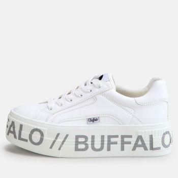 Scarpe BUFFALO Sneakers Vegan Platform linea Paired T1 colore Bianco