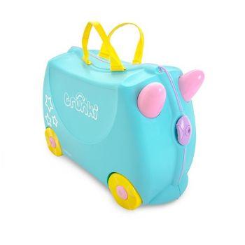 Valigia cavalcabile per Bambini - Trunki Una Unicorno