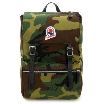 """Zaino Unisex Porta Pc 13"""" INVICTA Jolly linea Camouflage Star"""