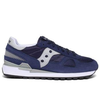 Scarpe Uomo Saucony Sneakers Shadow Original Navy - Grey