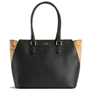 Borsa Donna Shopper a Spalla 1A Classe Alviero Martini linea Dream Way Nero GQ24
