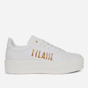 Sneakers Donna 1A Classe Alviero Martini linea Summer Vibes colore Bianco con Maxi Logo Geo Classic P427