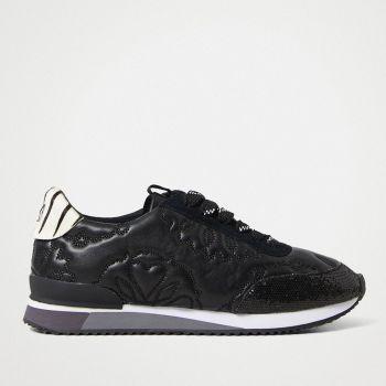 Scarpe Donna DESIGUAL Sneakers Runner linea Incisa colore Nero