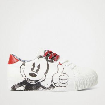 Scarpe Donna DESIGUAL Sneakers Illustrazione Topolino