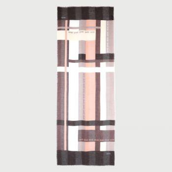 Stola Donna in Tessuto LIU JO con Righe Color Block Nero