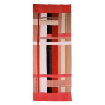 Stola Donna in Tessuto LIU JO con Righe Color Block Rosa