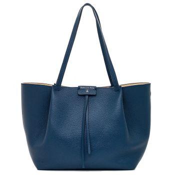 Borsa Donna in Pelle PATRIZIA PEPE Shopping a Spalla 2V8895 Dress Blue
